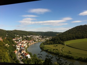 The view from Dilsberg Castle