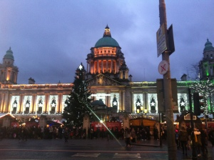 Christmas Market at Belfast City Hall