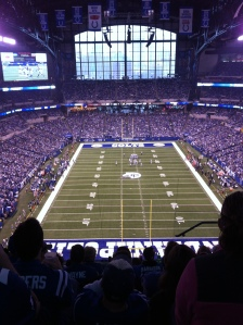 Lucas Oil Stadium- Home of the Colts!