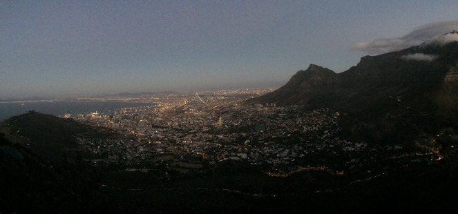 cape town in darkness