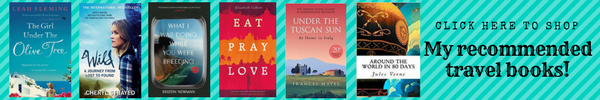 Travel Book Recommendations Banner